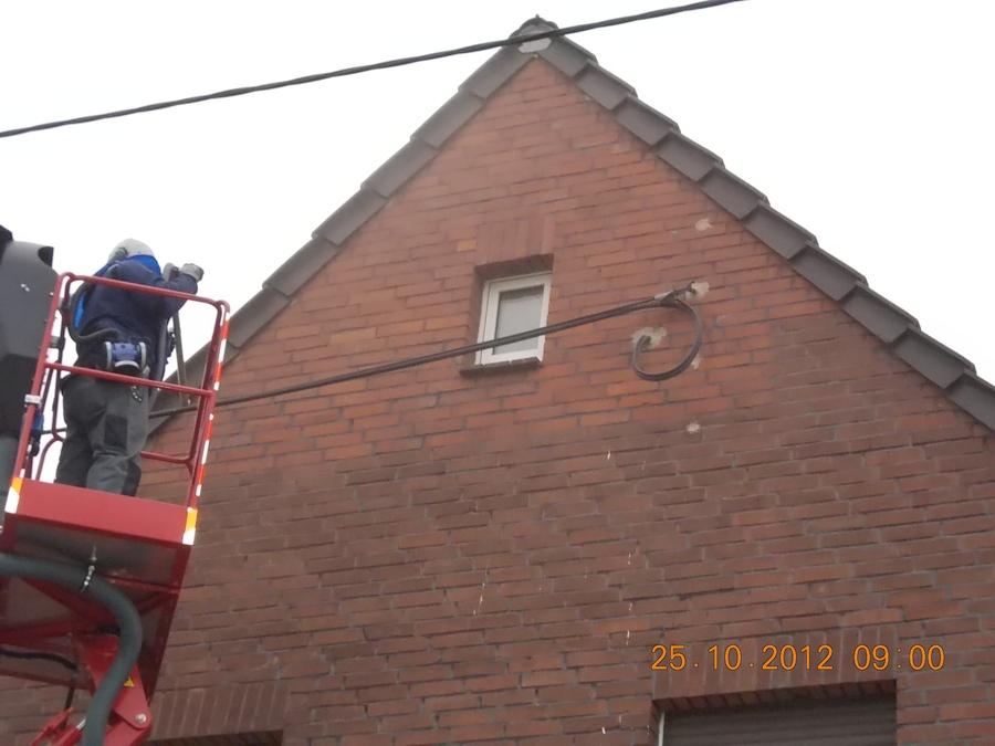 Klinker Fassadenreinigung