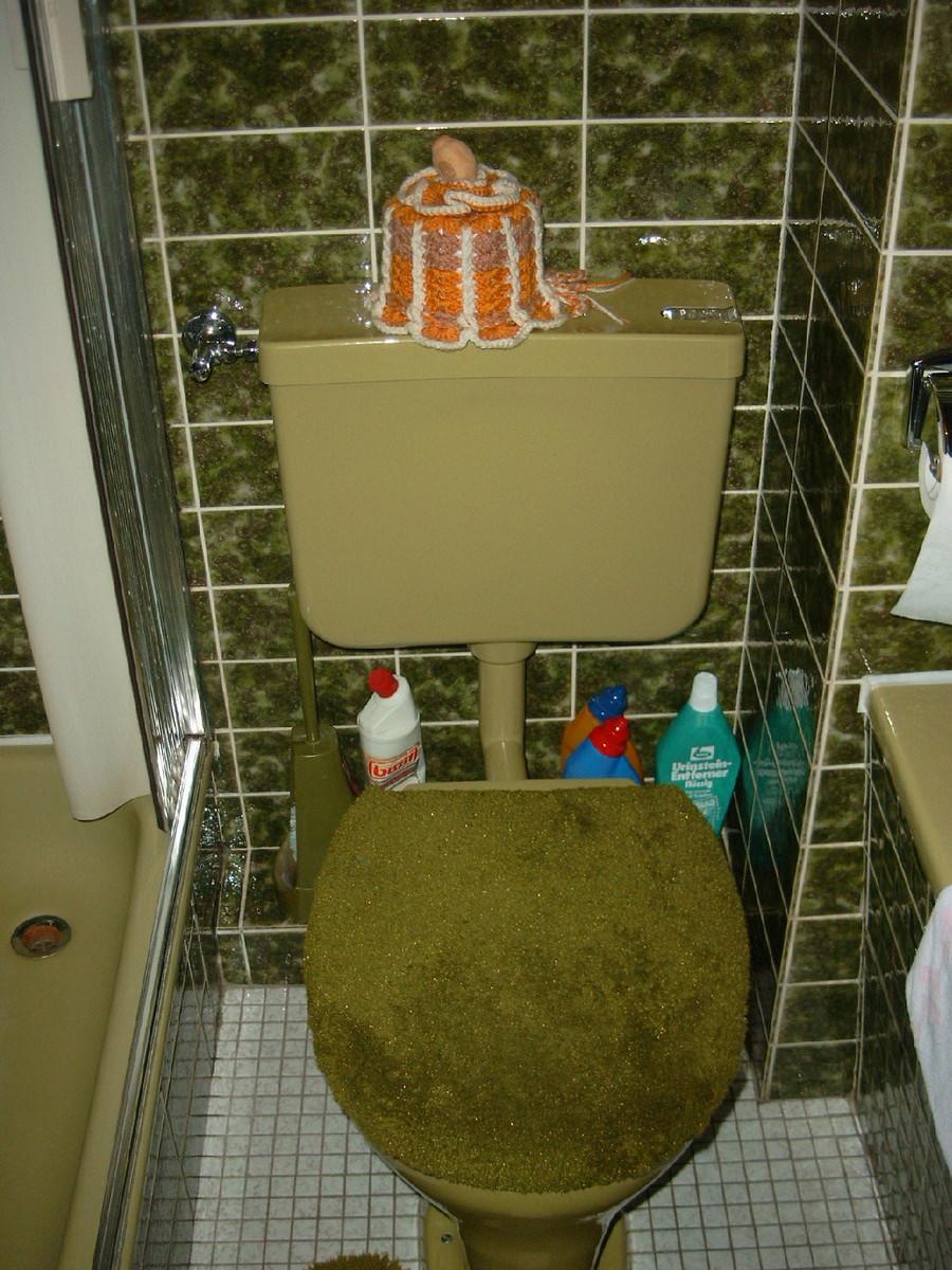 WC vorher